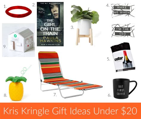 ideas for unisex christmas gifts under 20 25 kris kringle gift ideas 25 2016 style shenanigans