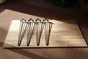Table Pied Epingle : table design la fabrique diy ~ Edinachiropracticcenter.com Idées de Décoration