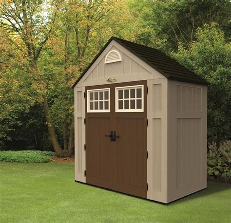 suncast alpine shed extension alpine 7 5x3 5 plastic storage shed
