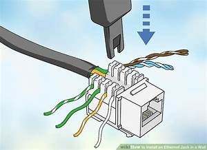 How To Install An Ethernet Jack In A Wall  With Pictures