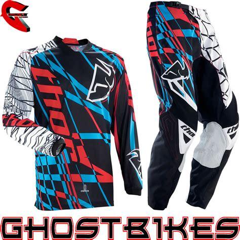 thor motocross jersey thor 2013 phase s13 coil ltd cyan mx enduro motocross