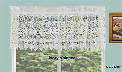 Creative Linens Fba_b0199ktrkk Creative Linens Knitted Lace Kitchen Curtain Valance Ivory 1pc Best Deals On Blackout Curtains Osha Light Curtain Safety Distance Chrome Pole Brackets 35mm Southwest Window For Bedroom Sliding Doors Iron Significance Quizlet Modern Bathroom Ideas Latest Styles India