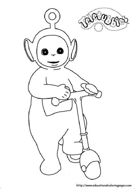 teletubbies coloring pictures educational fun kids coloring pages  preschool skills worksheets