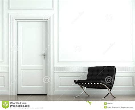 interior design classic wall stock photo image