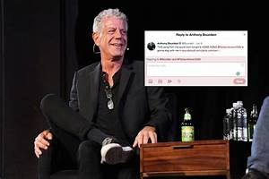 Fans Reply to Anthony Bourdain's Last Tweet | The Mary Sue