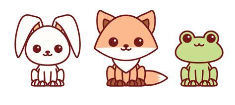 create easy kawaii animals  adobe illustrator