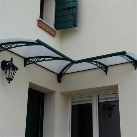tettoia in alluminio tettoia in alluminio ad angolo su misura infissi br1