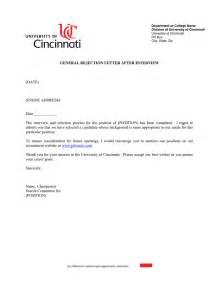 How To Write Refusal Letter After Interview Cover Letter