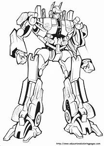 Educational Fun Kids Transformers Coloring Pages and ...