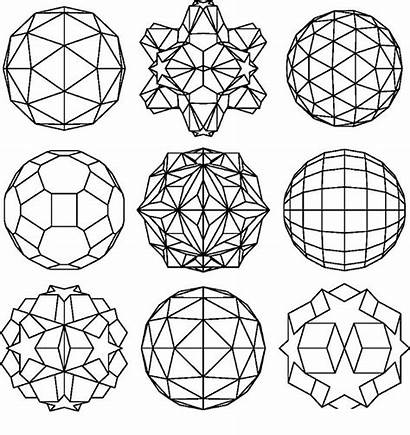 Geometric Pages Coloring Shapes Adults Designs Printable