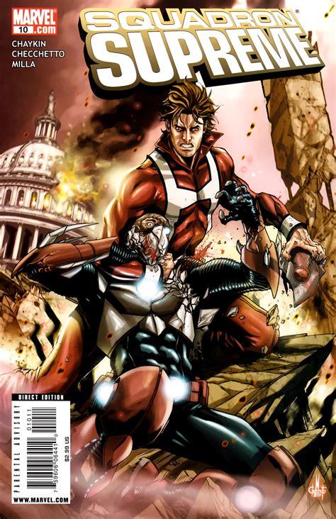 squadron supreme squadron supreme vol 3 10 marvel comics database