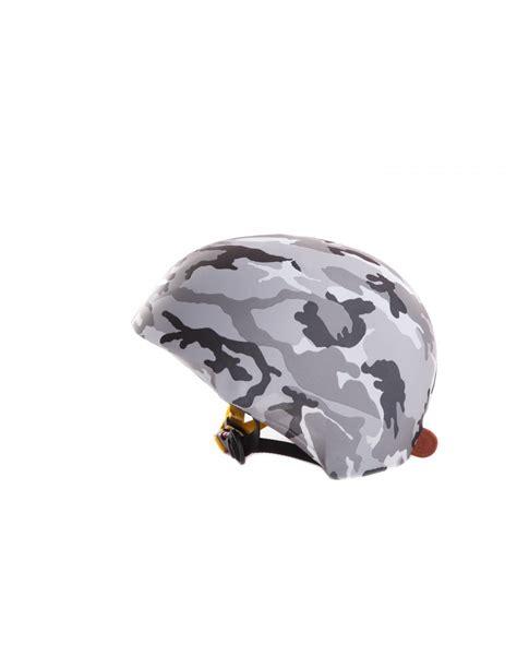 housse de casque de ski camouflage gris housse de casque velo ski the mask helmet