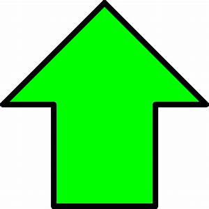 Green Up Arrow Clip Art at Clker.com - vector clip art ...