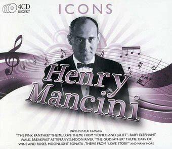 Henry Mancini  Icons (4cd Box Set) (2010)  Sony Uk
