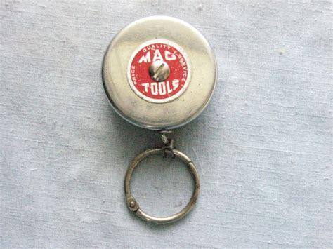 Mac Tools vintage Key Bak retractable key chain reel ...