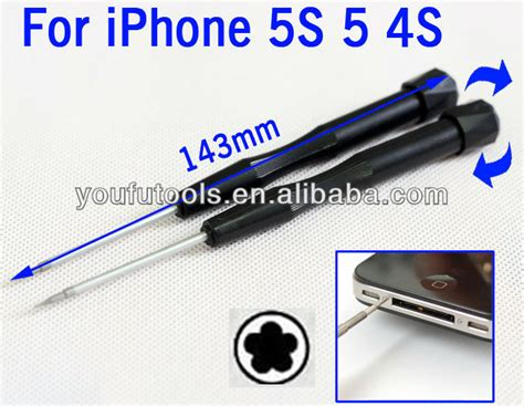 iphone 5 screwdriver size no9900 0 8 5 point pentalobe screwdriver for iphone 5s 5