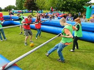 Inflatable games Team Building Days - Activity Days ...