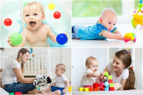 learning activities  games   month  baby