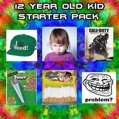 Starter Pack Kid Packs Meme Random Previous