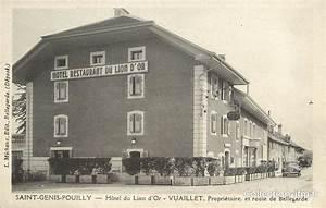 Hotel Saint Genis Pouilly : cpa france 01 saint genis pouilly h tel du lion d 39 or 01 ain autres communes 01 ref ~ Melissatoandfro.com Idées de Décoration