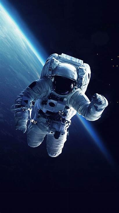 Astronaut Space Earth Iphone Wallpapers Astronauta Parede