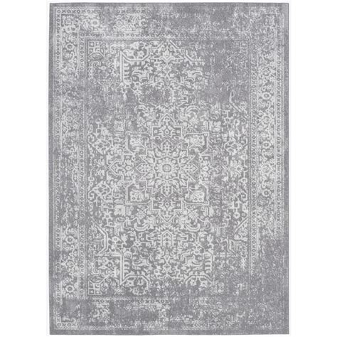 Safavieh Rugs Outlet by Safavieh Evoke Silver Ivory 8 Ft X 10 Ft Area Rug