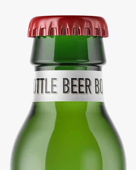 You can paste your label with any shape. Download 330ml Dark Amber Bottle With Beer Mockup ...