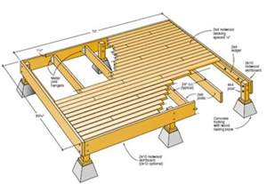 12x16 Floating Deck Plans by Best 25 Free Deck Plans Ideas On Deck Plans