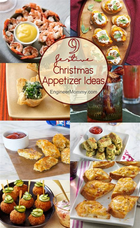 9 festive christmas appetizer ideas christmas appetizers