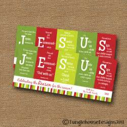 DIY Christian Christmas Cards