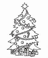 Tree Coloring Library Clipart Merry Clip Sheet sketch template