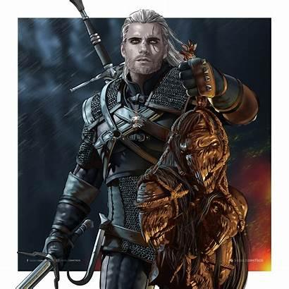 Geralt Rivia Netflix Witcher Cavill Henry Ciri