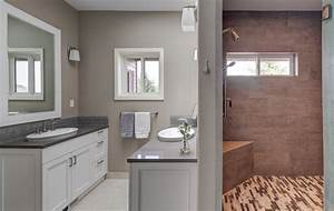 bathroom remodel completes phase ii of home transformation With bathroom remodle