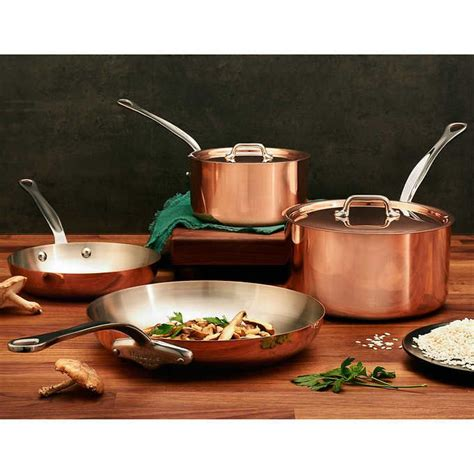 costco wholesale atgiftryapp cookware set mauviel copper kitchen
