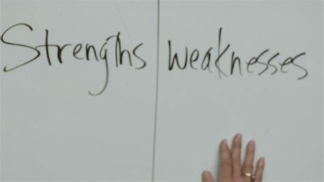 Strength And Weakness In by Quotes About Strengths And Weaknesses Quotesgram