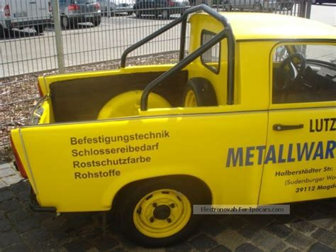 trabant pick  car photo  specs