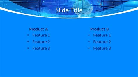 Free Global Technology Concept PowerPoint Template - Free ...