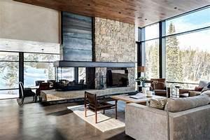 maison de reve chalet moderne dans le montana With maison de reve moderne