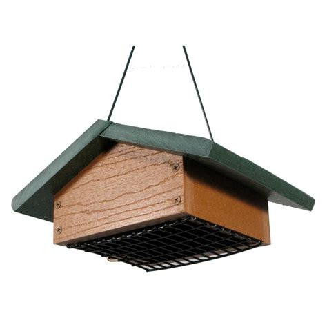 woodlink going green upside down suet bird feeder ggsbf