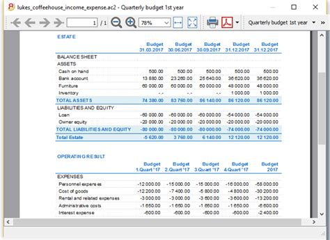 financial planning   startup income  expense