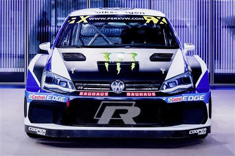 volkswagen polo  supercar  hp rallycross car