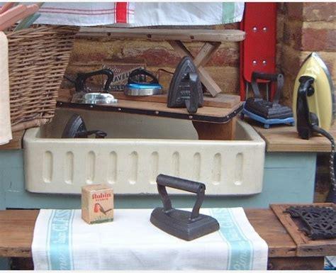 standalone ironing board ironing the vintage kitchen 2477
