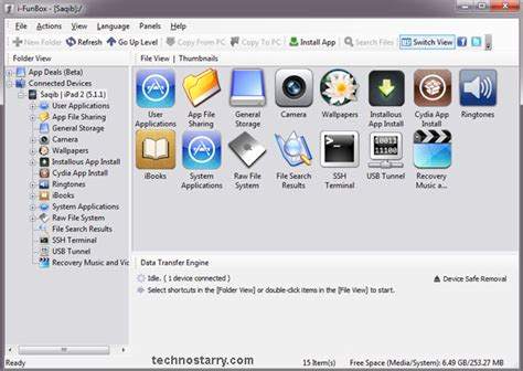 iphone file browser ifunbox is a file manager for iphone and ipod touch