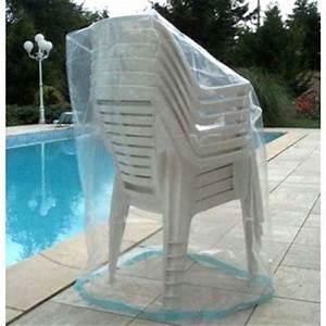 Housse Mobilier De Jardin : housse pour chaises de jardin housse pour une pile de 6 chaises de jardin ~ Teatrodelosmanantiales.com Idées de Décoration