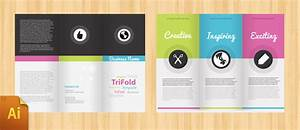Free corporate tri fold brochure template tri fold for Tri folded brochure templates