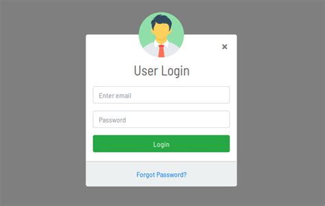 login form html design login form design in bootstrap 4 modal usign html and css