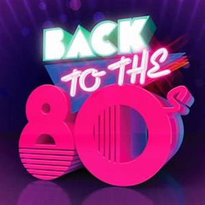Epitome of 80s fonts Throwback Party