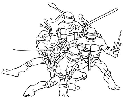 ninja coloring pages  kids az coloring pages
