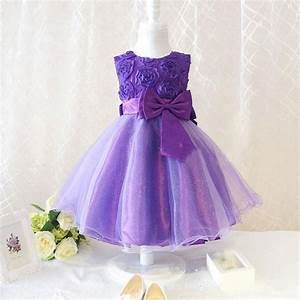 Flower girl princess bow dress toddler wedding party for Toddler dresses for weddings