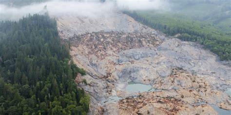 year  washington town hit  devastating mudslide